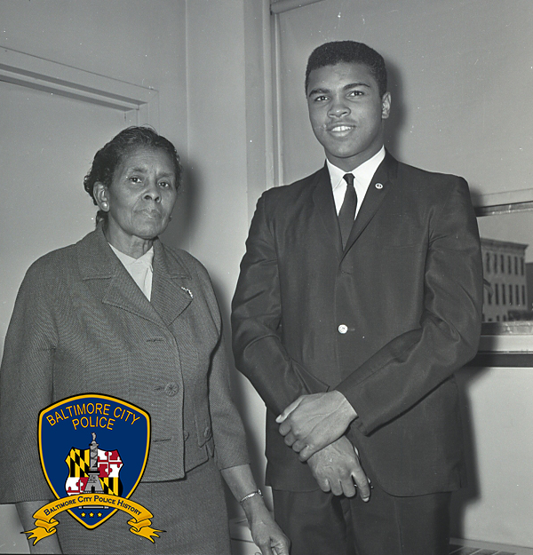Lt Whyte, with Ali