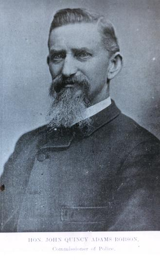 commissioner john quincy adams robson