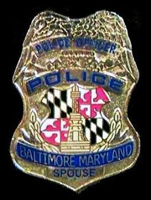 5th police spouse badge