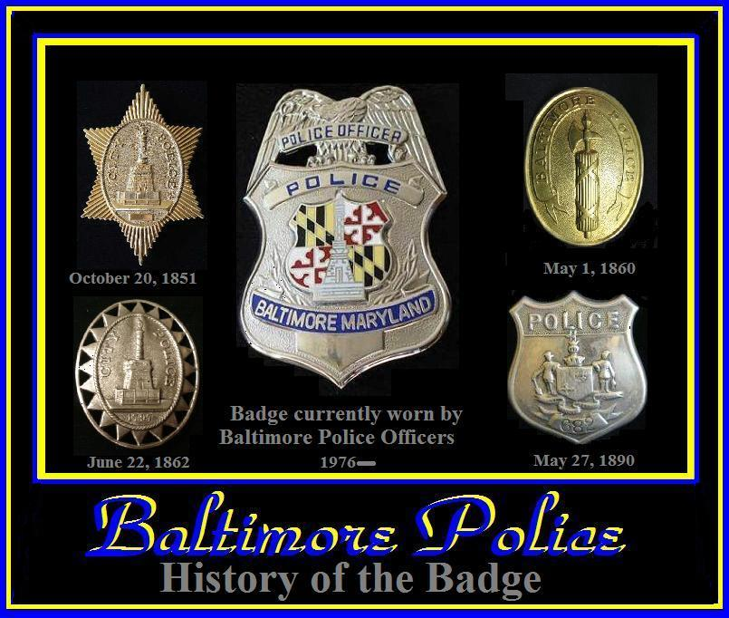 Badges Baltimore Police