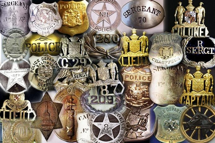 bpd badge collage
