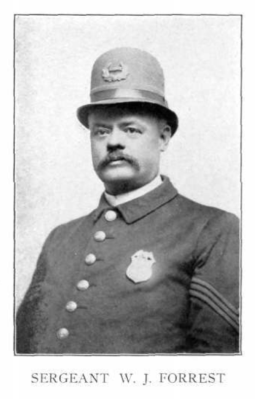 Sergeant William J Forrest