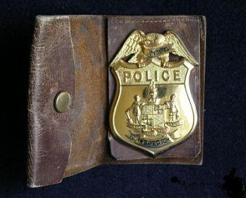 inspector william forrest badge1