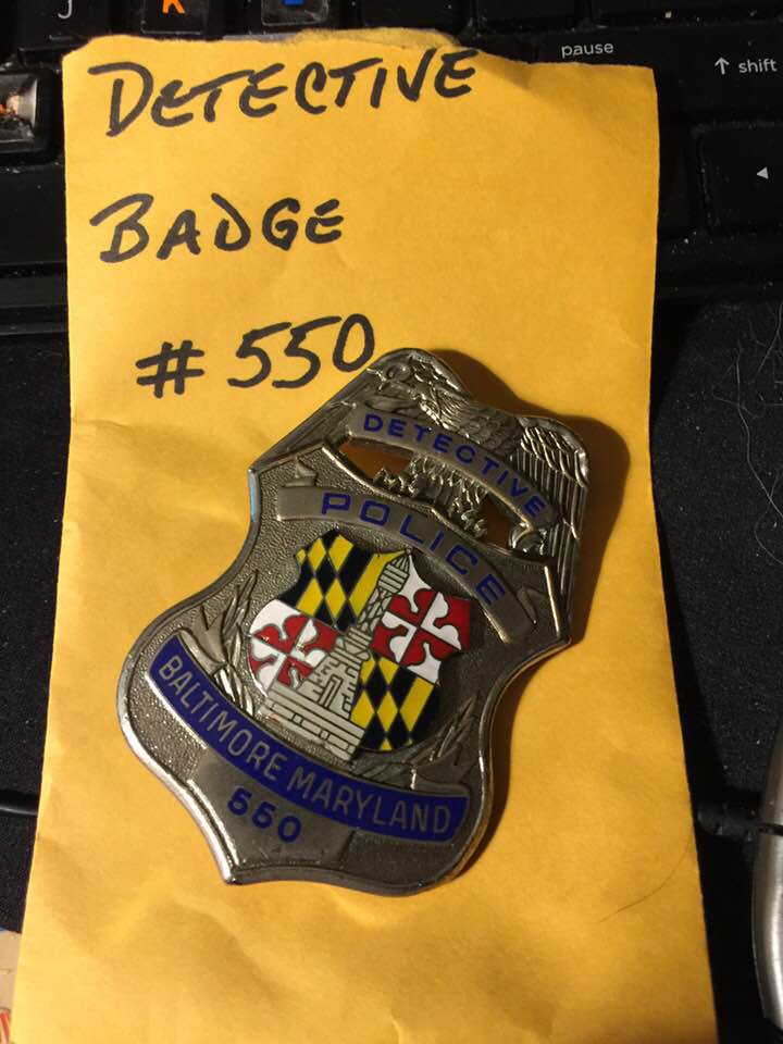 Detective Badge Retired 550