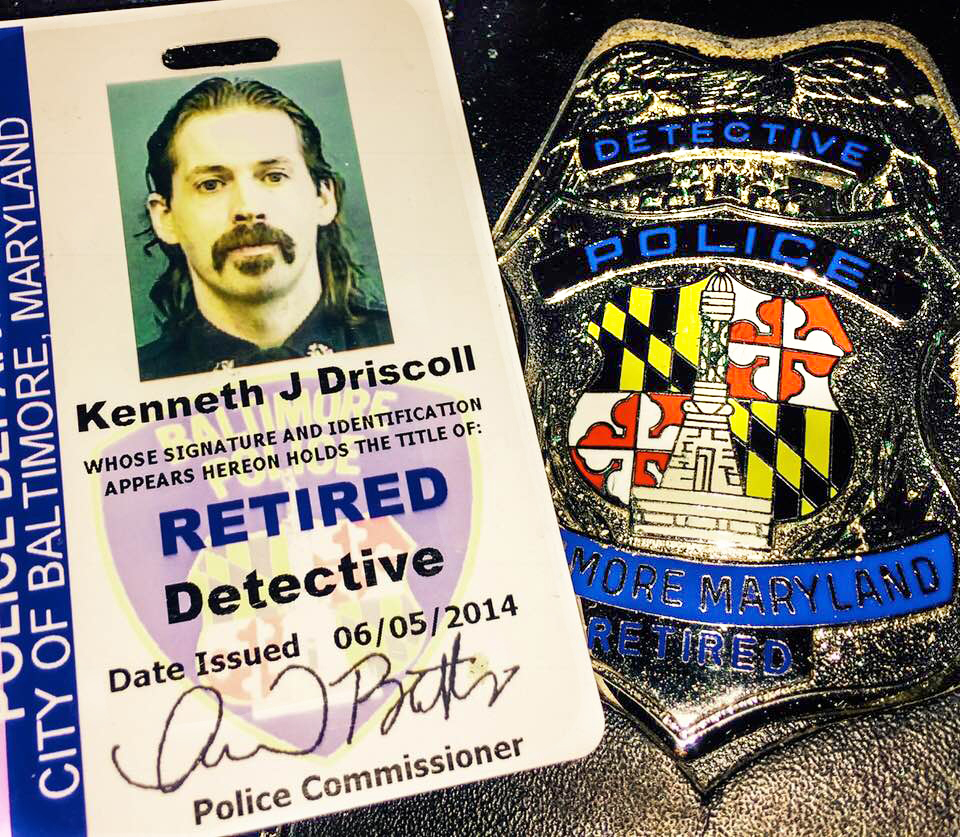 Retired Badge ID Card