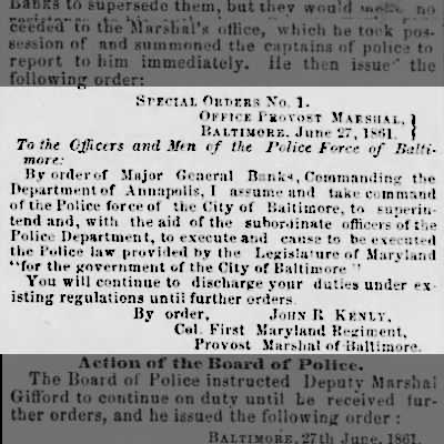 28 June 1861 Baltimore Sun article copy 2