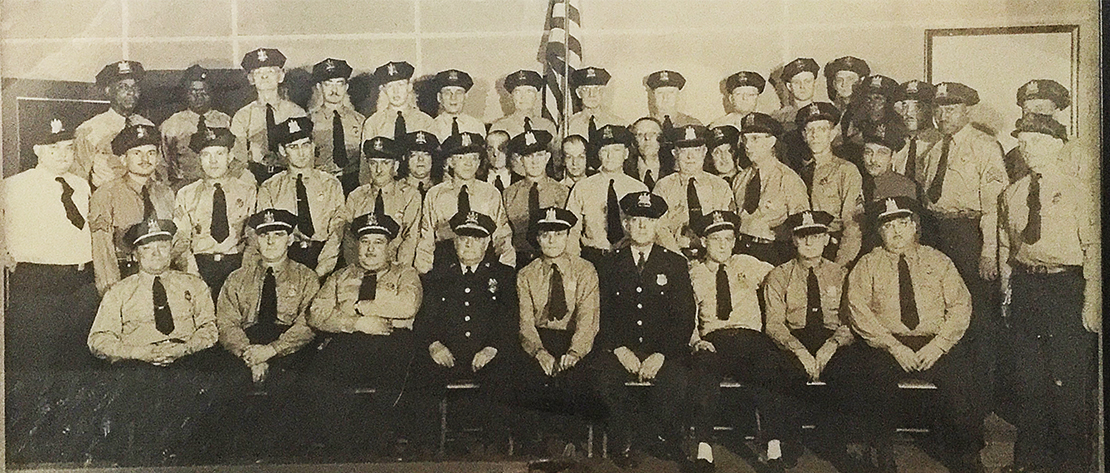 1940s BPD Officers with Auxillary Officers72