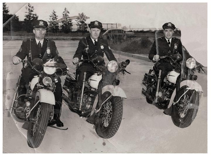 1950s MOTOR 3 OFFICERS