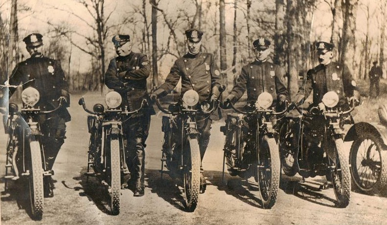 1st Motor Officers 1914