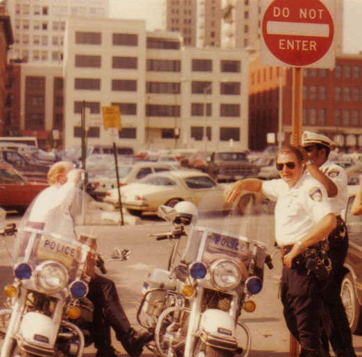 Officer Mike DeHaven Norman Stamp Tom Richburg 1984