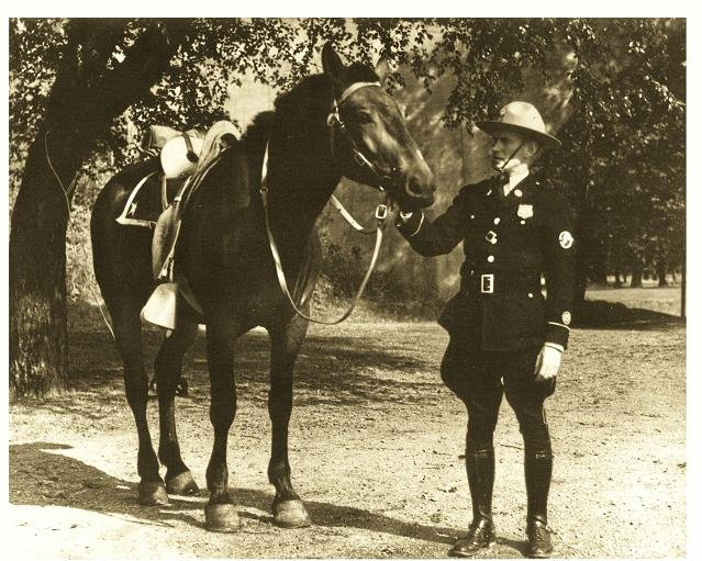 Park Police mounted