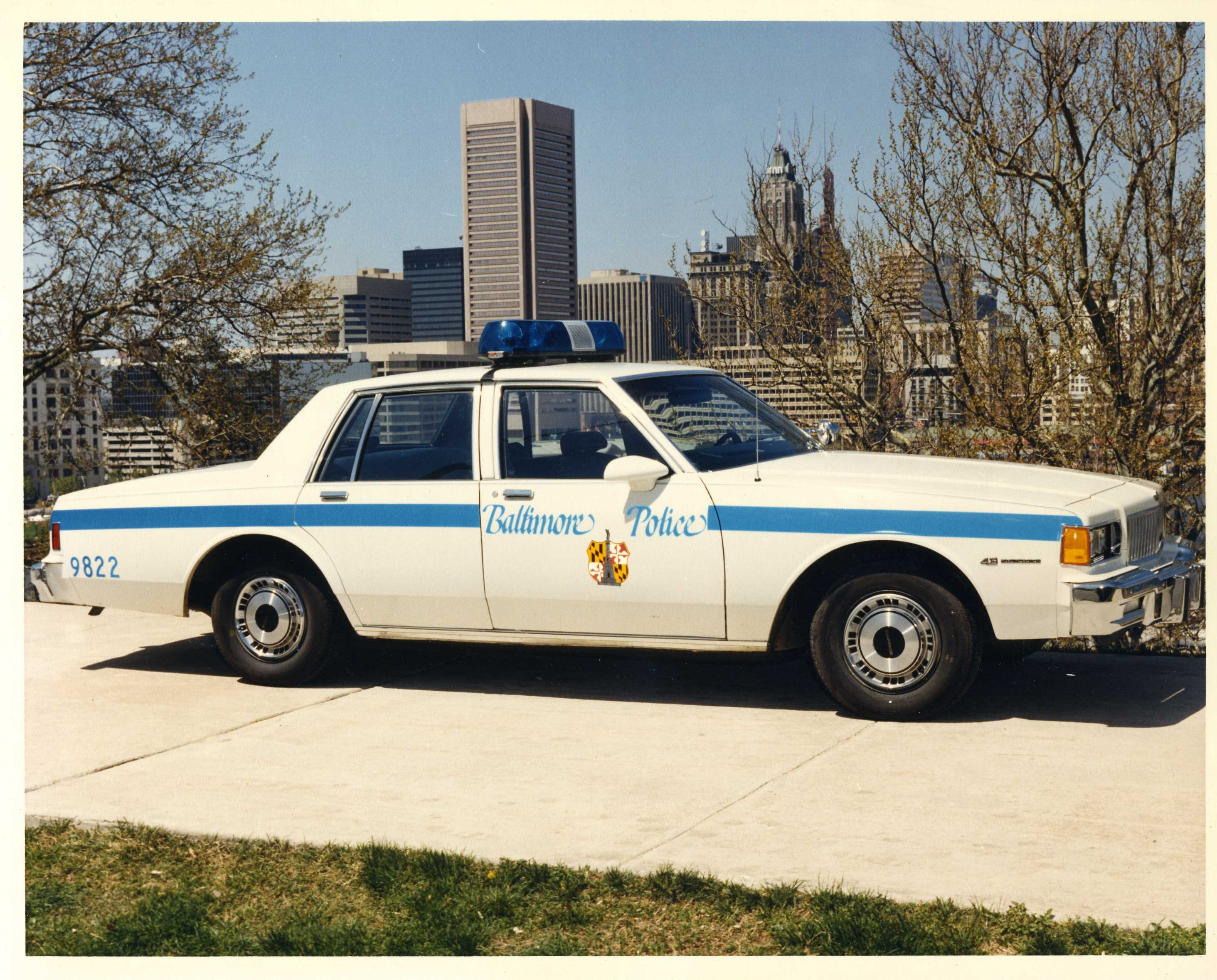 1959 Balto PD Patrol Car   Restored