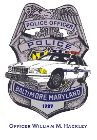 BPD CAR OVER BADGE Hackley