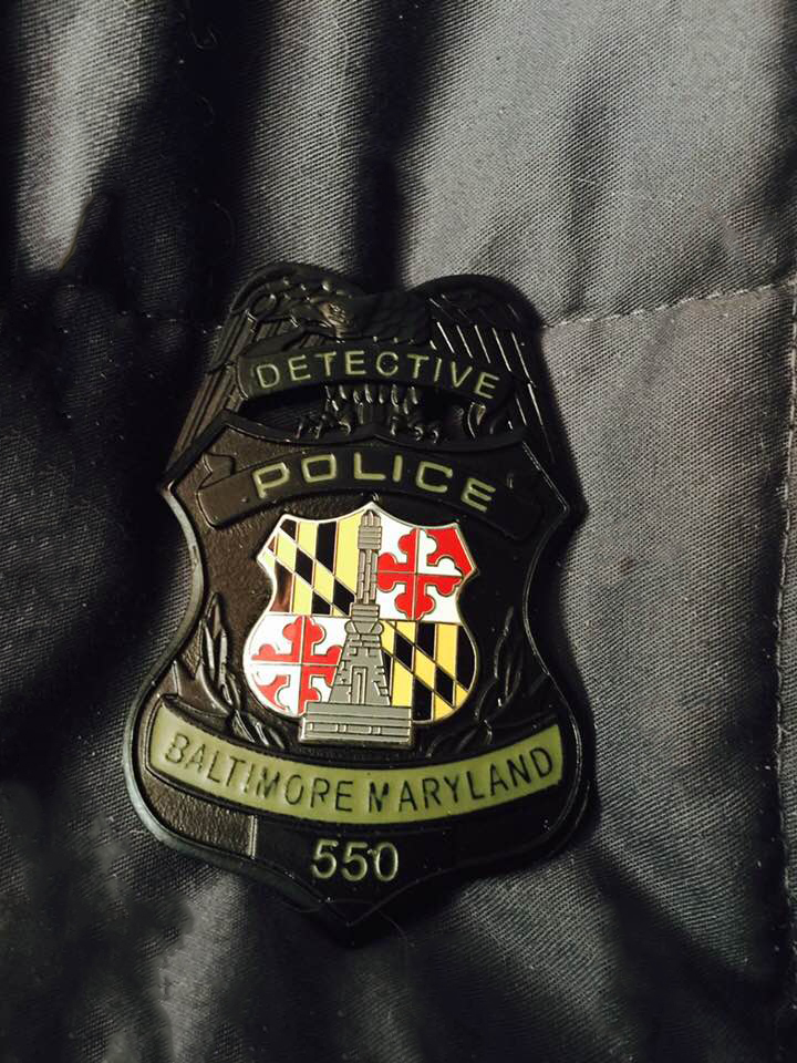 Subdued Detective Badge 550
