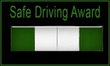 Safe Driving Award