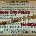 Patrolman Ronald H. Teufer Sr