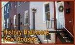 The History of our Baltimore Row-Homes