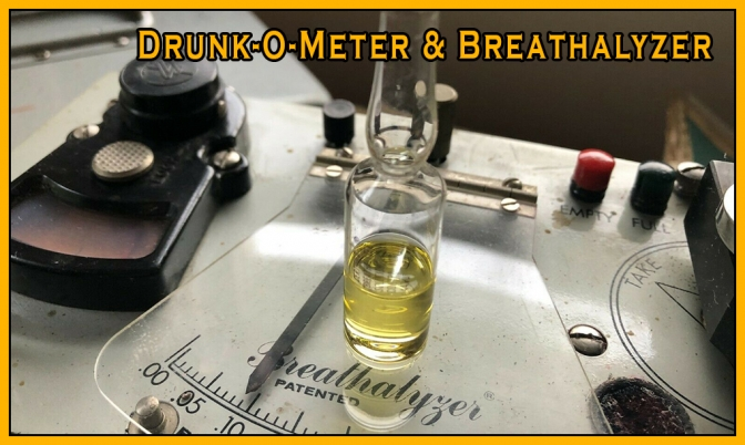 Drunk-o-meter and Breathalyzer