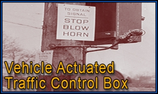 Vehicle Actuated Traffic Control Box