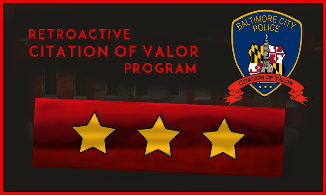 Retroactive Citation of Valor program