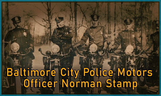 Retired Officer Norman Stamp