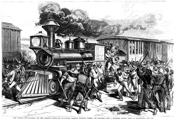 The B&O Railroad Riots 1877