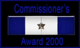 Commissioner Award 2000