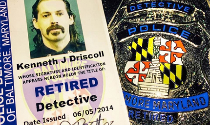 Retired Detective Kenny Driscoll