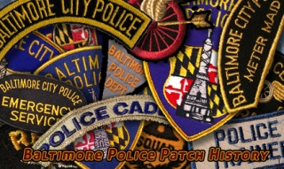Baltimore City Police Patches